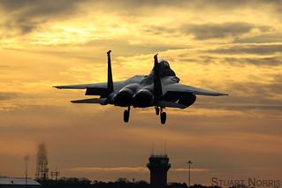 USAFE McDonnell Douglas F-15E Strike Eagle 48FW RAF Lakenheath