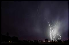onweer boven Daalmeer
