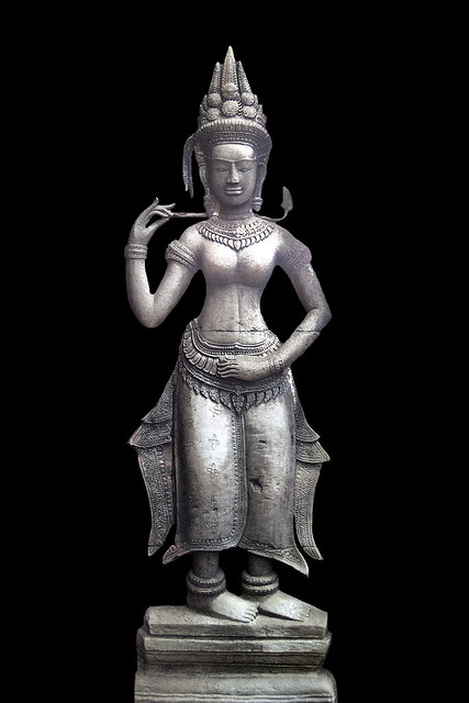 Cambodia - Ta Prohm Temple - Devata - 03b