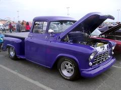 1956 Chevy 3100 (splattergraphics) Tags: truck pickup chevy 1956 custom carshow 3100 oceancitymd endlesssummercruisin