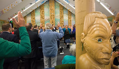 Rapaki Marae citizenship ceremony (Christchurch City Libraries) Tags: christchurch peninsula marae banks waitangiday citizenshipceremony rapaki treatyofwaitangi