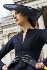 Class (agruszka21) Tags: london me beauty hat fashion model pentax merci event gloves latex week liquid k3 pentaxart