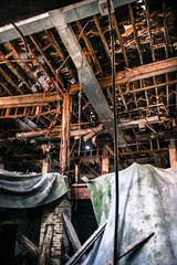 Loose fittings (Just Add Light) Tags: urban sun abandoned ex glass wisconsin moss paint archive gone milwaukee tc growing decayed founders immigrant varnish urbes mke 1894 manufacturing indstrial esser razed plateglass revoltion paintcompany theodorecesser baronowski