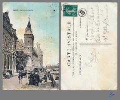 PARIS - La Conciergerie (bDom [+ 3 Mio views - + 40K images/photos]) Tags: paris 1900 oldpostcard cartepostale bdom