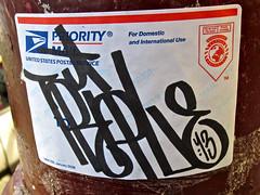 Priority Mail Sticker, San Francisco, CA (Robby Virus) Tags: sanfrancisco california sticker mail tag slap usps priority