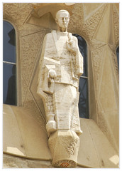 Sagrada Familia 72 (ferran pestaña) Tags: sagradafamilia gaud josepmariasubirachs ibarcelona fachadadelapasión