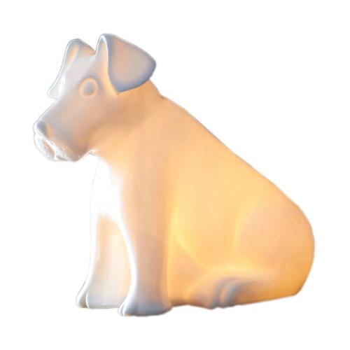 Puppy Veilleuse en porcelaine