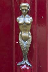Mermaid Door Knocker, Amsterdam (Peter Cook UK) Tags: Door Netherlands  Amsterdam Knocker