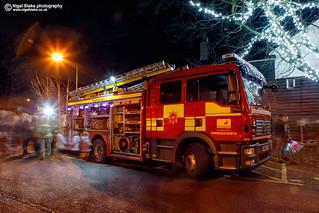 Sawbridgeworth Fire engine