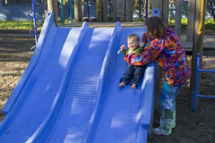 playground toddler sam slide quinn