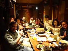 20141222year-end party (Nanoprotonics) Tags: japan group laboratory komatsu fuelcell nagao isikawa japanadvancedinstituteofscienceandtechnology nanoprotonics schoolofmaterialsscience