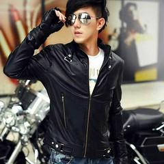แจ็คเก็ตหนัง แฟชั่นเกาหลี ราคา 1,290 บาท สินค้าพรีออเดอร์ รหัส KI001 ไม่มีวันปิดรอบ สั่งซื้อได้ทุกวัน รอสินค้า 15-20 วัน ดูเพิ่มเติมได้ที่ http://www.kjfashionstyle.com/product/871  ค่าจัดส่งสินค้า ลงทะเบียน ตัวแรก 30 ตัวถัดไปเพิ่ม 10 บาท แบบ EMS ตัวแรก 5