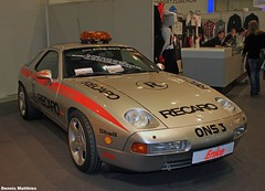 928 Safety Car (Schwanzus_Longus) Tags: red sports car ferry museum modern race essen stuttgart super safety german porsche vehicle expensive audi exclusive racer gts studie 928 racercar supersports porsche928 h50 porsche928gts raceracer