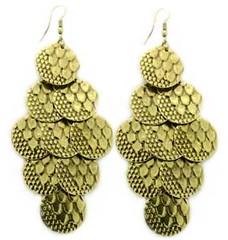 5th Avenue Brass Earrings P5031A-5