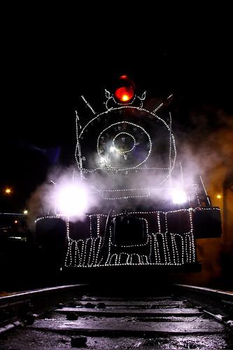 tren de la sabana en Bogotá (Vagamundos) Tags: de tren navidad la bogotá sabana bogotánocturna