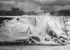 The American Side (LukeOlsen) Tags: winter usa newyork niagarafalls falls americanfalls niagarariver lukeolsen