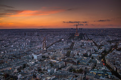 Sunset in Paris (fabiofilho2001) Tags: sunset paris france tower skyline cityscape eiffel