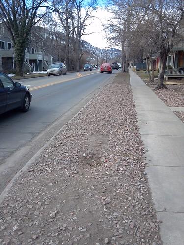 Photo - Arapahoe Avenue Reconstruction (Before)