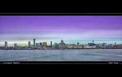 Liverpool Skyline (Sam Knox) Tags: sea england storm castle beach liverpool coast waves northwest coastal shore riverfront seafront mersey wirral newbrighton merseyside irishsea rivermersey fortperchrock newbrightonlighthouse perchrock perchrocklighthouse liverpoolskyline januarystorms