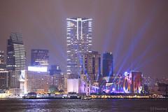 Hong Kong Pulse 3D Light Show (tomosang R32m) Tags: hk night hongkong central  kowloon   tsimshatsui avenueofstars   yakei   hongkongculturalcentre     projectionmapping tsimshatsuieastpromenade   hk2014  hongkongpulse3dlightshow 3d