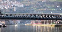 Puente Euskalduna. Bilbao (Diego J. Escolano) Tags: bridge spain bilbao euskadi