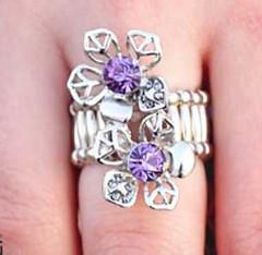 Glimpse of Malibu Purple Ring K1 P4160-5