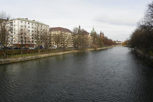 Rio Isaar em Maximilianstrasse