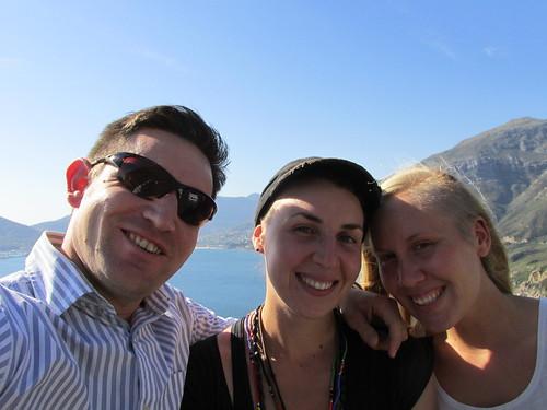 Avec Cobus et Emily, Couchsurfing, Cape Town, Afrique du Sud