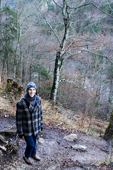 impossibly rugged alpine hiking (mjblanchard) Tags: castle germany bayern bavaria neuschwanstein hohenschwangau ludwigii