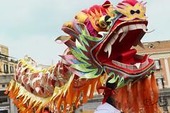 Capodanno Cinese 2015 - Napoli (KlarisePH ~ Events) Tags: show china city party festival dance chinese napoli naples piazza festa cina capodanno cinesi cinese dragone festività