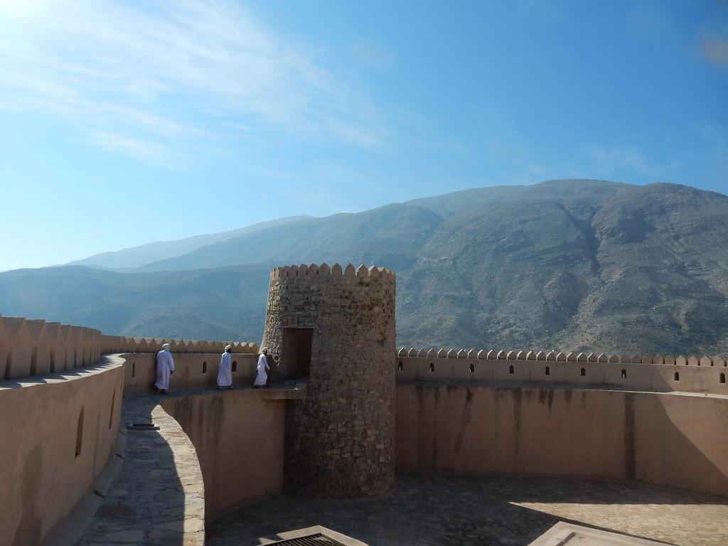 Inside Rustaq fort