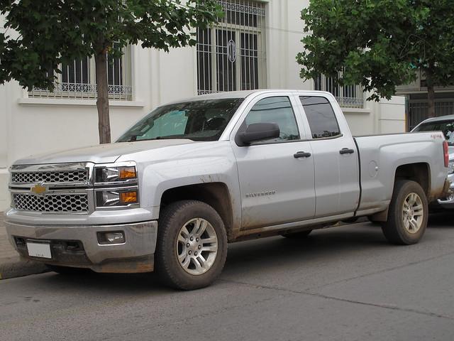 chevrolet gm 4x4 pickup camionetas generalmotors 2014 extendedcab chevrolet1500 silveradolt