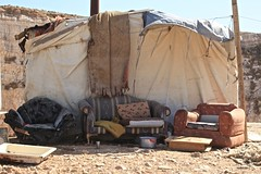 Bedouin Families Living on the Fringe Amman Jordan Middle East (eriagn) Tags: wood city travel family boy portrait people woman man men abandoned wool broken boys poster tin drums chair rocks iron king desert sheep furniture traditional capital families amman middleeast photojournalism documentary donkey dry jordan plastic dirt sofa goats laundry friendly lamb dust tribe recycle quarry arid bedouin lawson dwellings dwelling shepherds wayoflife cityedge semiarid rubbishdump dailyliving asiaminor livelihood refusedump socialreportage shepherding seminomadic quarrysite eriagn ngairelawson ngairehart hartngaire