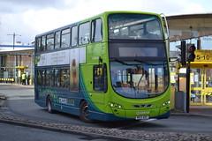 Arriva North West 4518 MX13ADV (Will Swain) Tags: uk travel england west bus buses britain north transport 21st birkenhead february mersey merseyside arriva 2015 4518 mx13adv