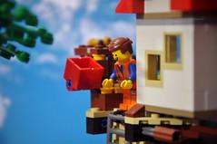 3!..2!.. 1!... Jump! :-D (parik.v9906) Tags: blur nikon lego legos minifigure d90 minifigures 365days legomovie