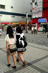 Tokyo - Akihabara (*maya*) Tags: japan shopping comics tokyo cosplay games videogames electronics shoppingmall akihabara cosplayer otaku akiba maid japanesegirls giappone streetfashion electrictown  elettronica japanesefashion streetstyle videogiochi akihabaraelectrictown
