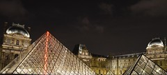 Louvre (Alex Davis Photography) Tags: paris france museum night nikon pyramid louvre illumination lisa mona palais d5100