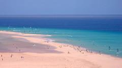 Playa Sotavento (16:9clue) Tags: blue sea seascape beach widescreen fuerteventura playa 169 atlanticocean windsurf canaryisland costacalma beachphotography playasotavento sotaventobeach 169clue