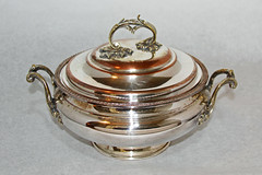 Wonderfully detailed antique silver on copper tureen (babyfella2007) Tags: china old playing jason art glass station vintage silver carson children design foods store pretty child hand eating antique grant painted victorian michelle style games collection whole cocktail biscuit thrift taylor shaker jar pottery 300 cart flour deco canister item napier beaufort finds ridgeland cannister silverplate