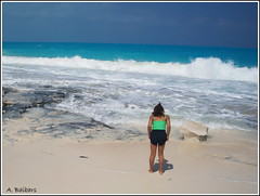IMG-2233651 (A. Baibars) Tags: blue girls sea seascape nature girl rock rocks waves natural outdoor beatch