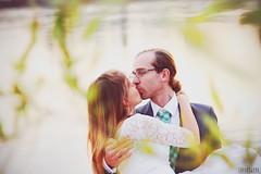 N& (Zaparowana) Tags: portrait people love water canon eos 50mm groom bride blog kiss couple dof married photoshoot bokeh marriage poland warsaw blogged 18 650d t4i 18mp