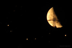 welcome to lunar industries (birdcloud1) Tags: moon lunar pylon power industry moonset night dark amandakeogh amandakeoghphotography birdcloud1 canonpowershotsx10is sx10is canon nightsky overtheexcellence aotearoa