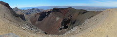 Panorama - Red Crater - Tongariro Alpine Crossing (timohannukkala) Tags: red newzealand panorama nature landscape nationalpark nikon crossing sigma alpine crater nz tongarironationalpark tongariro d7100 manawatuwanganui