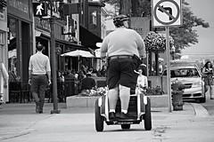 the rest of parking enforcement is walking... (#KPbIM) Tags: summer michigan fat parking july segway enforcement officer obese royaloak 2016
