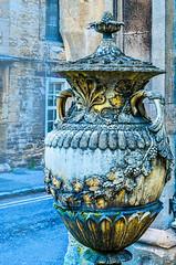 Grecian-vase_DSC9620 (Mel Gray) Tags: burford england cotswoldhills oxfordshire grecianvase urn grecianurn