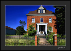 Home Gaylord MI (the Gallopping Geezer 3.7 million + views....) Tags: old house building brick home mi canon michigan structure tamron geezer dwelling 28300 2016 5d3 historicgaylord
