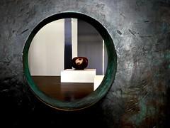 Arp-Museum (Arnolt S.) Tags: circle hansarp arpmuseum bahnhofrolandseck art museum sculpture kunst mft microfourthirds lumix panasonic lumixgf7 leicasummilux1517 lines minimalism