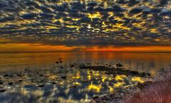 | (DeadDogsEye) Tags: deaddogseye plymouth400 plymouthmassachusetts400 plymouth massachusetts manometpoint manomet jetty hdr sunset sunrise rocks sky