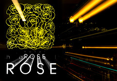 Hotel Rose (docoverachiever) Tags: night lights patterns hotelrose portland zoomeffect colorful 83116