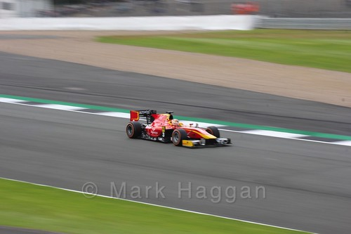 Norman Nato in the Racing Engineering car in GP2 Practice at the 2016 British Grand Prix